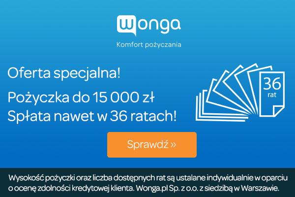Wonga pożyczka