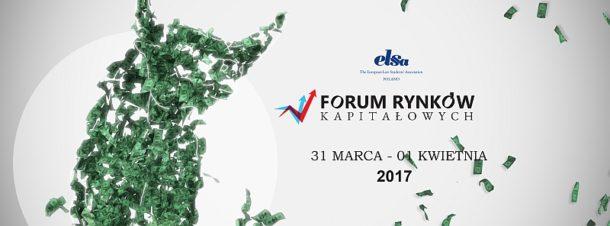 Zapraszamy na Forum Rynków Kapitałowych