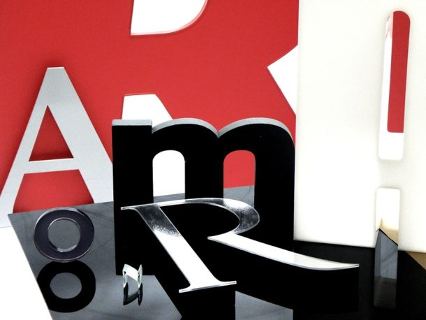 Wyróżnij logo swojej firmy dzięki literom przestrzennym