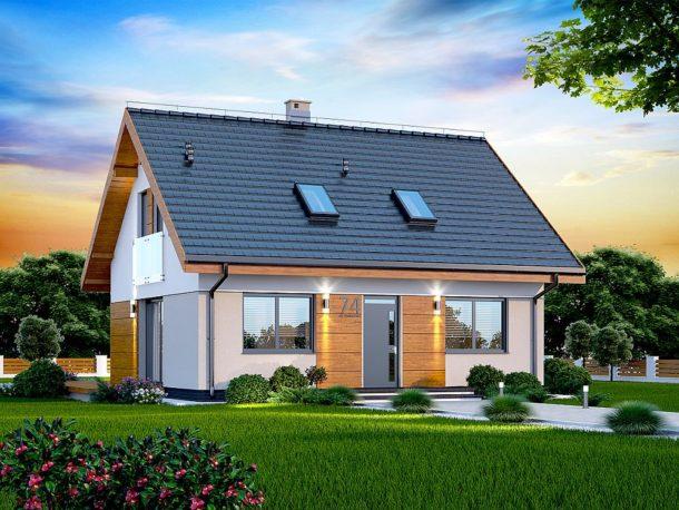 Projekt domu Armanda XS BIS WOK1068