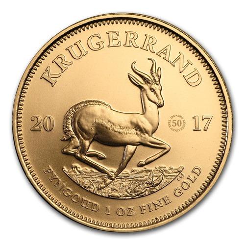 Krugerrand w 50-tą rocznicę bicia monety