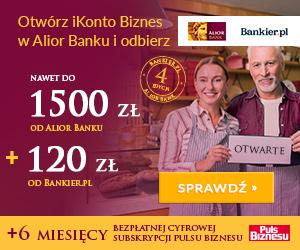 Zgarnij Premię z iKontem Biznes Alior Banku